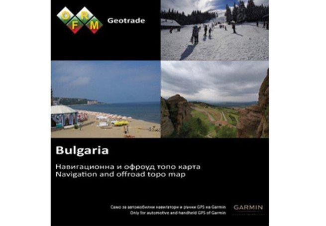 TOPO Bulgaria – OFRM Geotrade Garmin microSD™/SD™ card