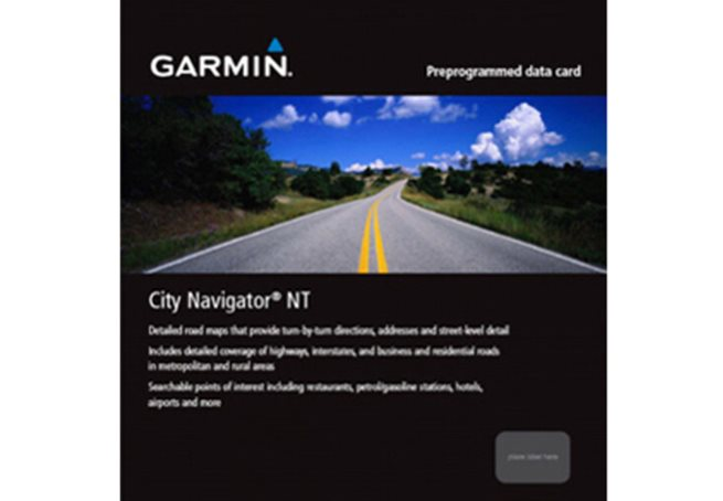 Northwest Eastern Europe Garmin City Navigator® MICROSD™/SD™ CARD