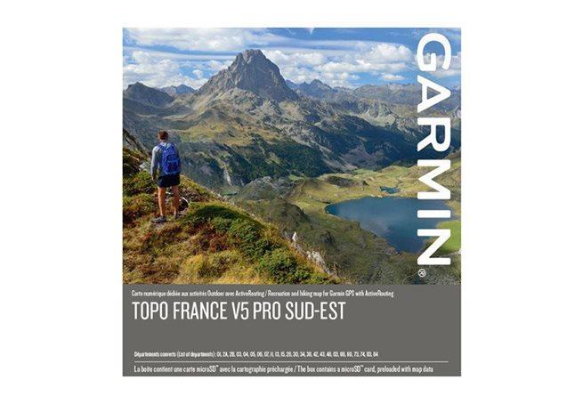 TOPO Sørøstlige Frankrike v5 PRO, Garmin microSD™/SD™ card