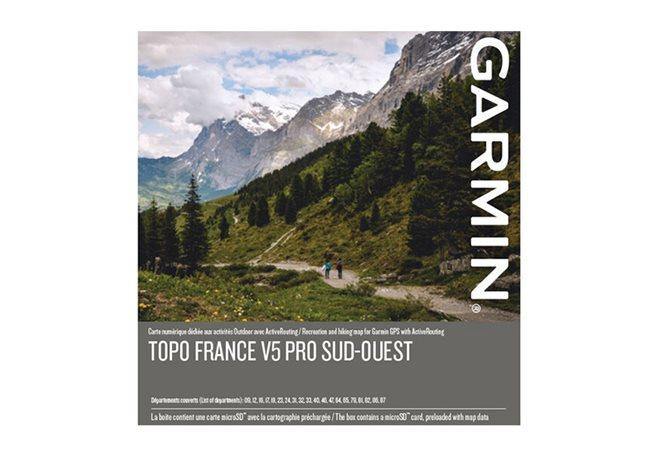 TOPO sørvestlige Frankrike v5 PRO, Garmin microSD™-/SD™-kort