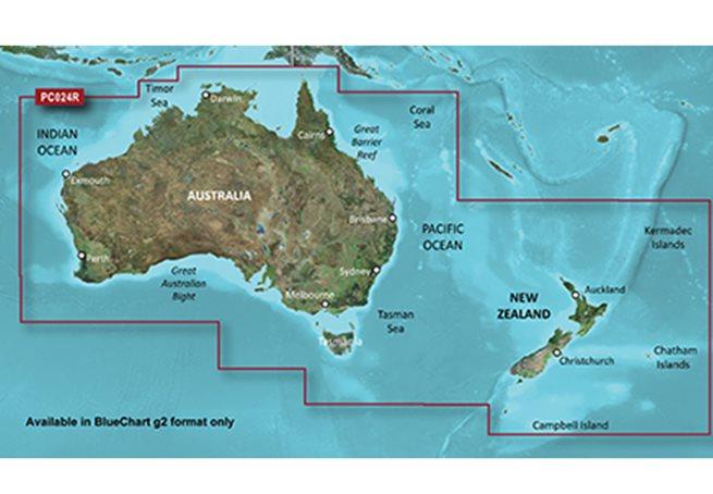 Australien + Nya Zeeland Garmin microSD™/SD™ card: HXPC024R