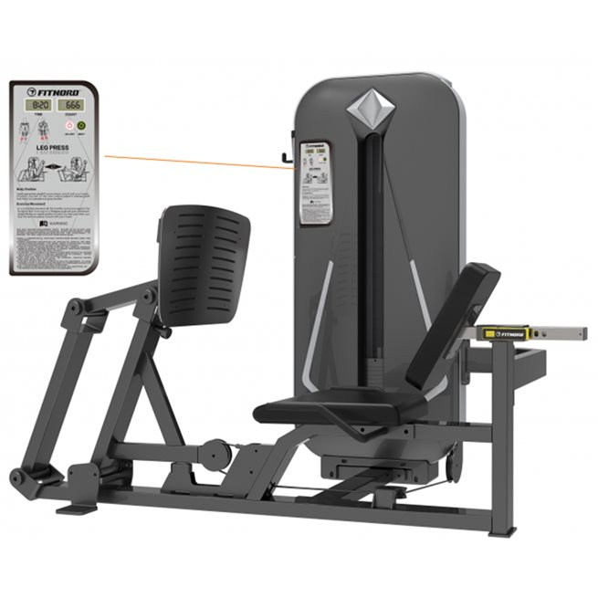 FitNord FitNord Diamond Leg press