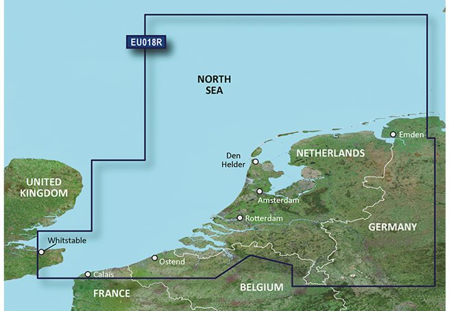 Benelux Offshore & Inland Garmin microSD™/SD™ card: HXEU018R