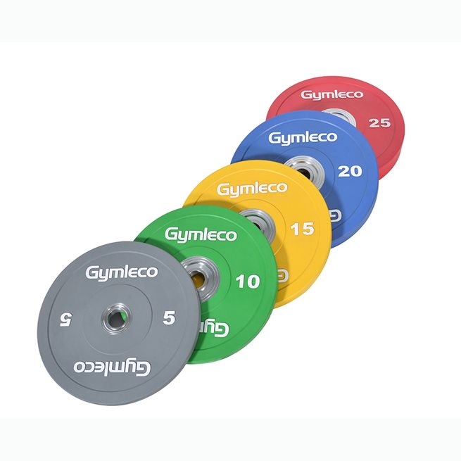 Gymleco färgade bumpers