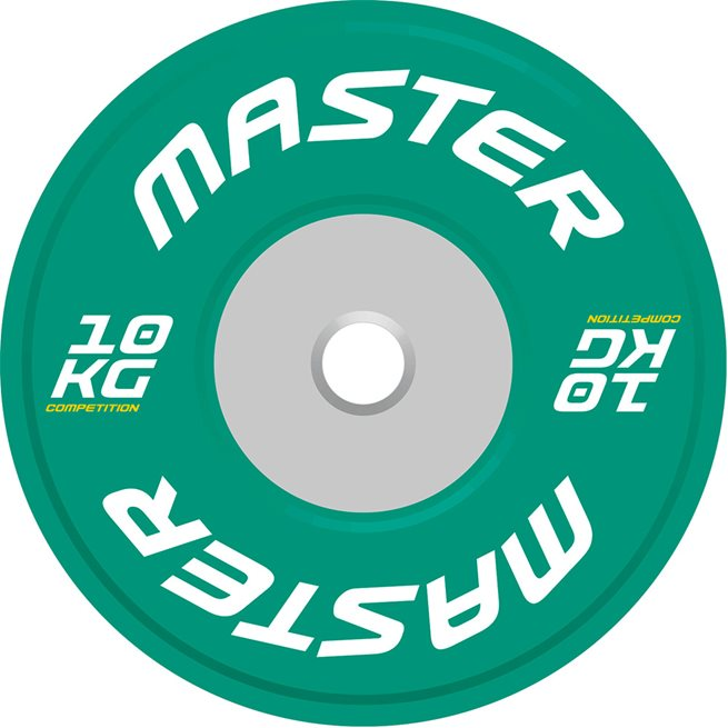 Master Competition Plate 50 mm