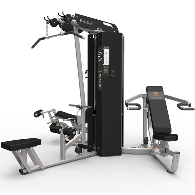 Impulse Three station multigym