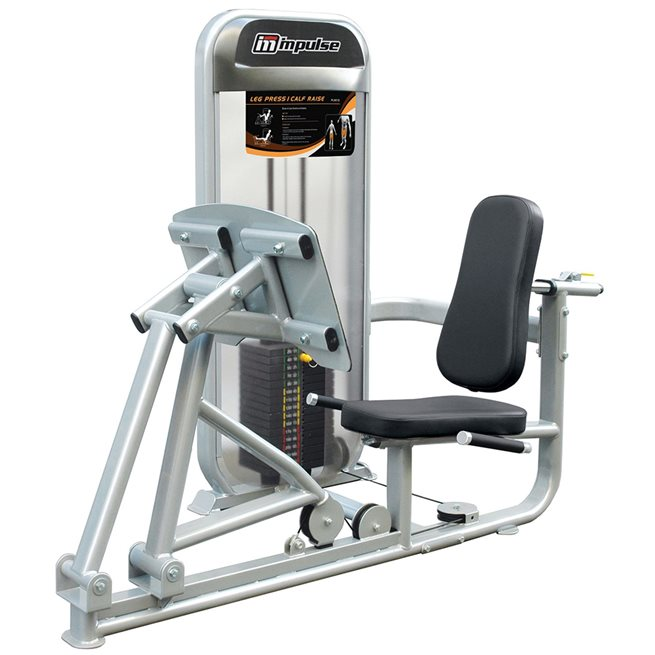 Impulse Leg Press / Calf Raise, Styrkemaskin Ben