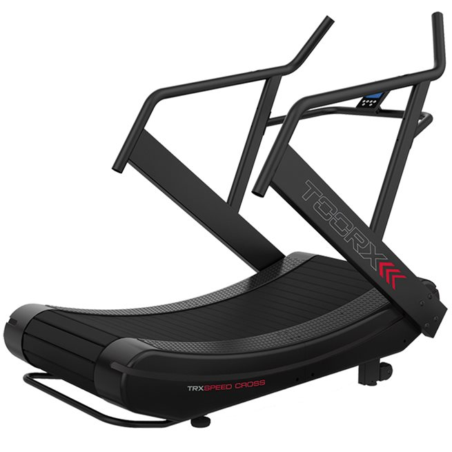 Curved treadmill TRX SPEED CROSS