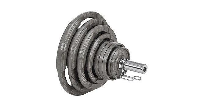 Master Vektpakke 50 mm Iron 115 kg