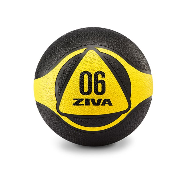 ZVO Medicine Ball Black/Yellow
