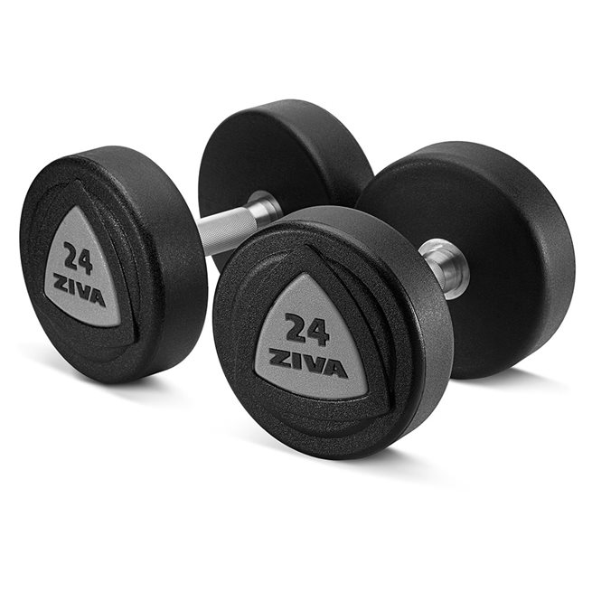 ZVO Urethane Dumbbell Grey