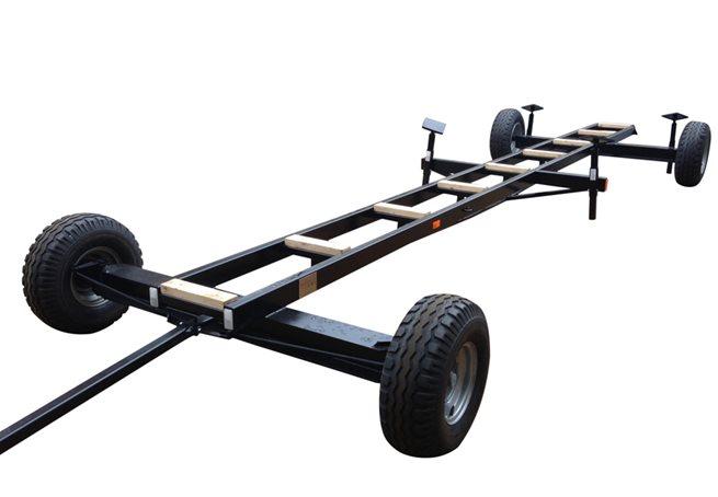 MD Trailer MD 5500 kg med Svängbara framhjul