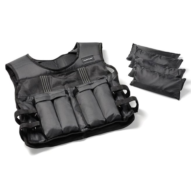 Tunturi Fitness Adjustable Weighted Vest 15kg, Viktväst