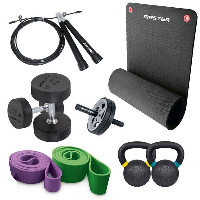 Master Fitness Home Gym 3, Träningsset