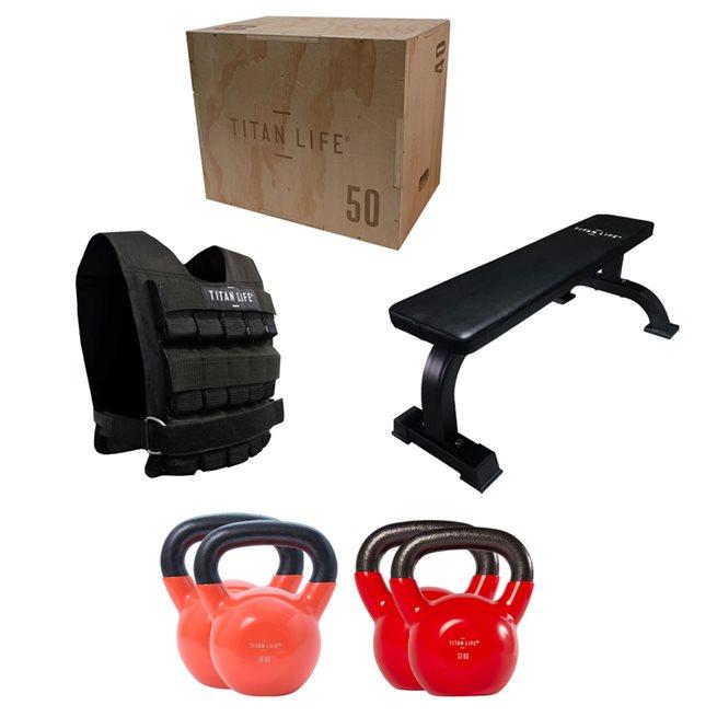 Titan LIFE The X - Fit, Komplett styrkepaket