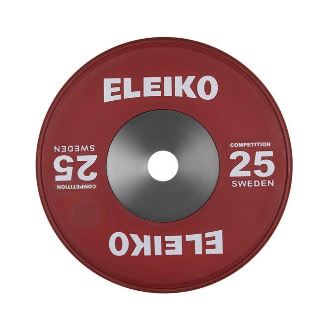 Eleiko IWF Weightlifting Competition Disc, Viktskiva Gummerad