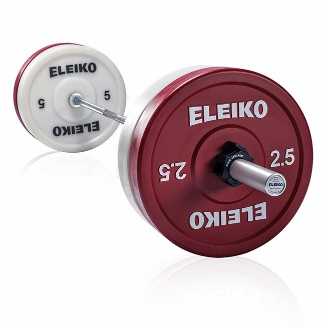 Eleiko Weightlifting Technique Set 20 kg, Skivstångset