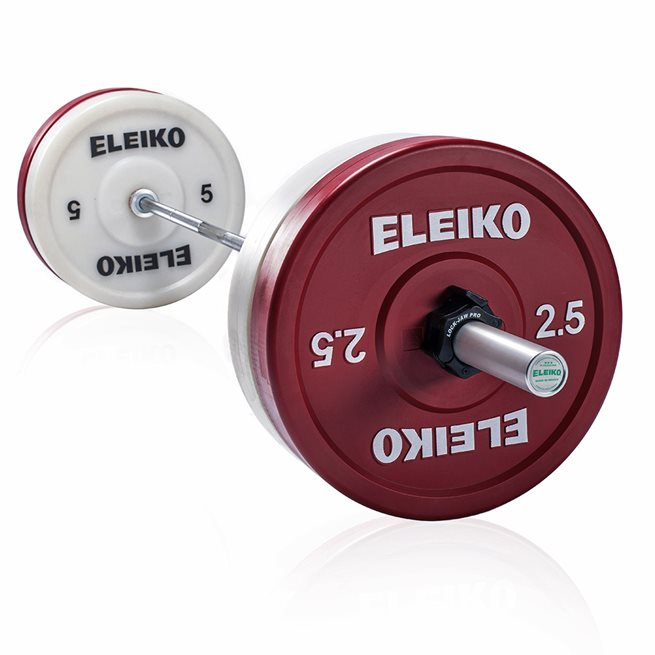 Eleiko Weightlifting Technique Set 25 kg, Skivstångset
