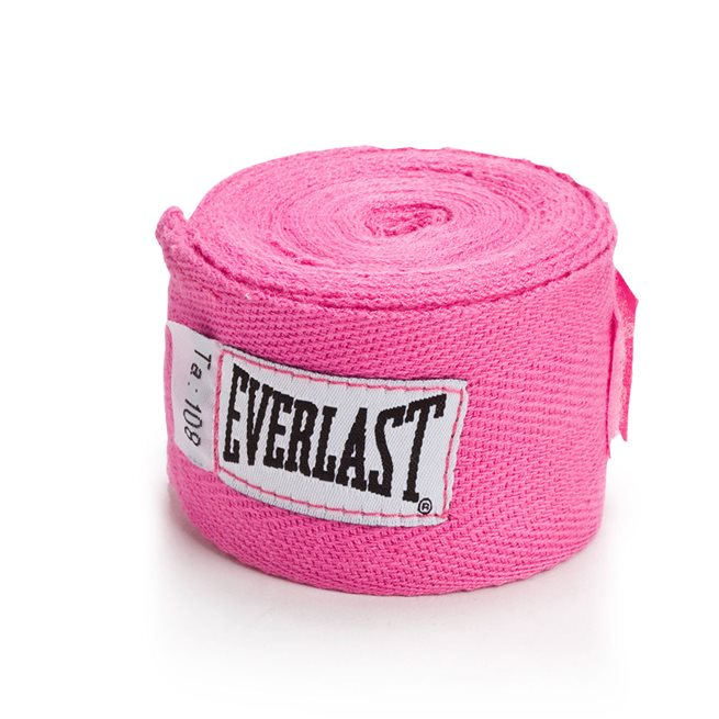 Everlast Cotton Handwraps Pink, Linda