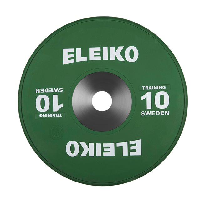 Eleiko IWF Weightlifting Training Disc, Viktskiva Gummerad