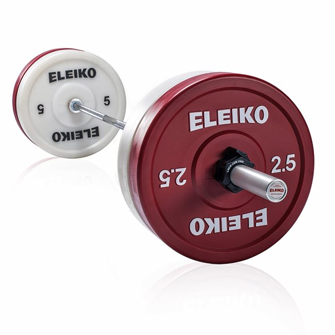 Eleiko Powerlifting Technique Set - 25 kg, Skivstångset