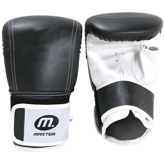 Master Fitness Slaghandske Läder, Säck- & mittshandskar