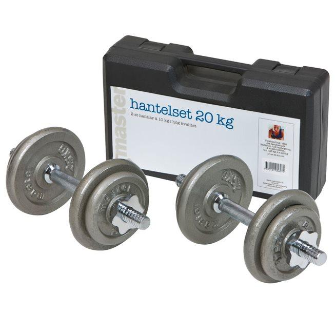 Master Fitness Hantelset (20 kg)