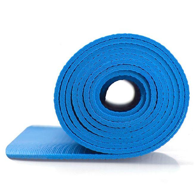 Yogamatta 4 mm Blå