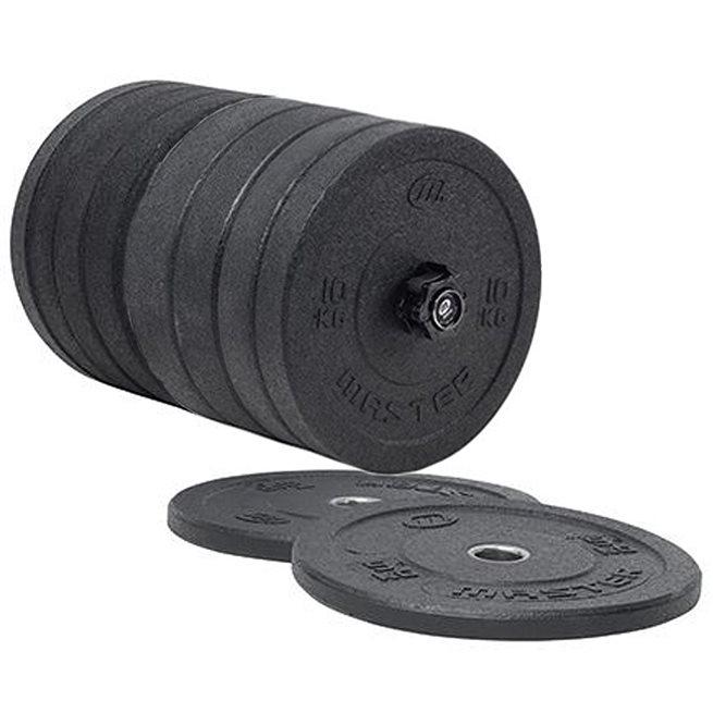 Master Fitness Hi Impact Bumper Weights 150kg, Viktskiva Bumper