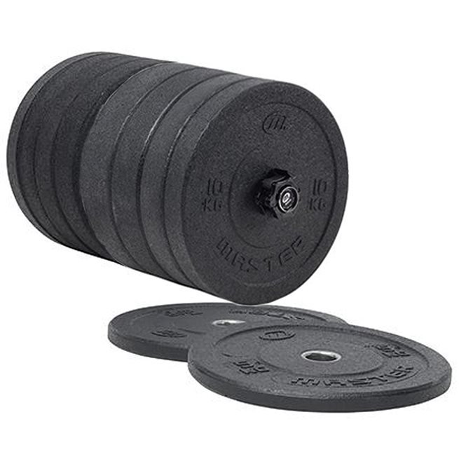 Master Fitness Master Hi Impact Bumper Weights 150kg