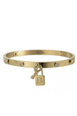 Love Lock Bangle Gold