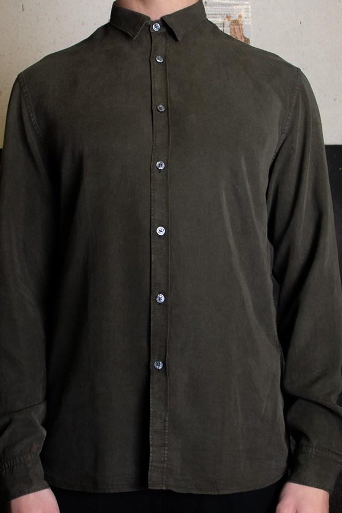 Washed Tencel Shirt