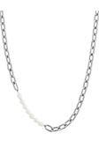 Trellis Pearl Necklace