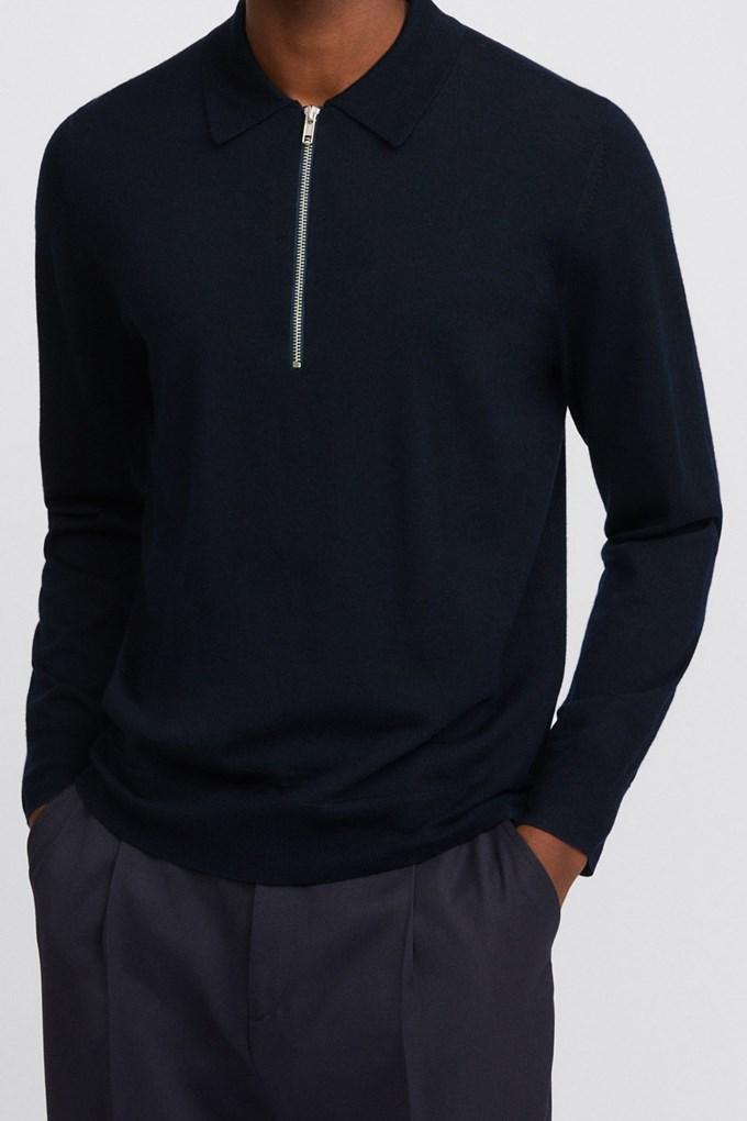 Shawn Zip Polo Shirt