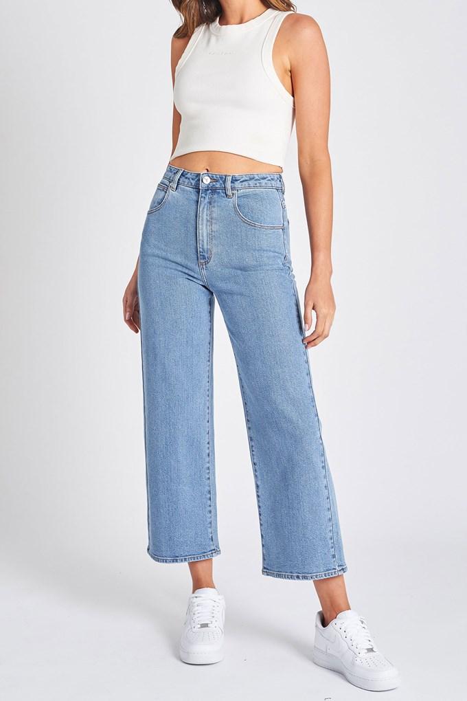 A Street Aline Crop Jeans