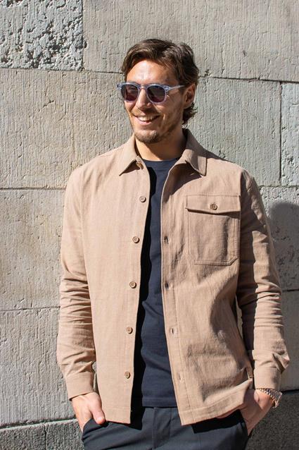 Frank Linen Overshirt