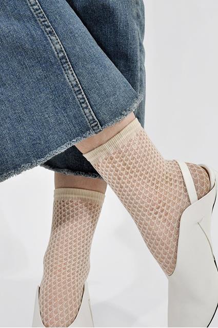 Vera net socks
