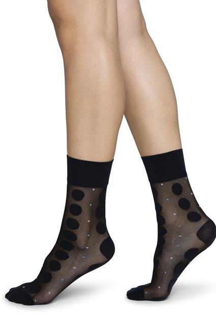 Viola dot socks