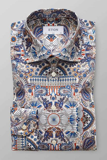 Paisley Print Twill Shirt
