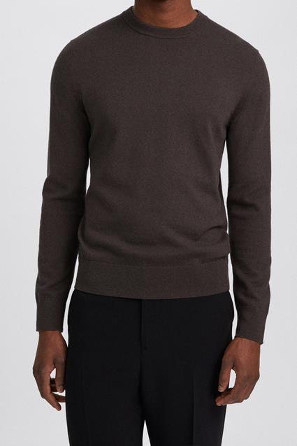 Cotton Merino Basic Sweater