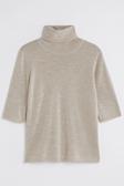 Merino Elbow Sleeve Top