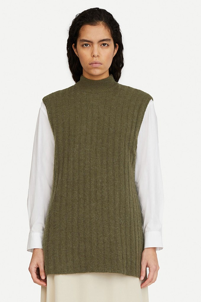 Etay long vest