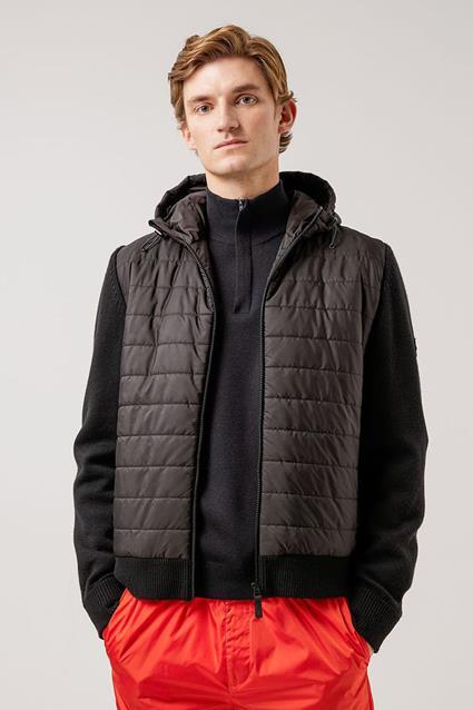 Pierre Knitted Hybrid Jacket