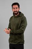 Sami faux suede hoodie