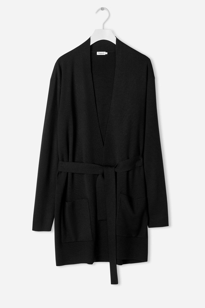 Belted Mid Cardigan