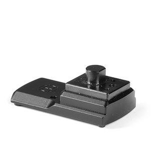 Henneberger 8,5mm Montage för Docter/Delta/Burris passande Leupold Quick Release