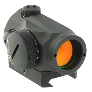 Aimpoint Micro T-1 4MOA with Weaver/Picatinny mount