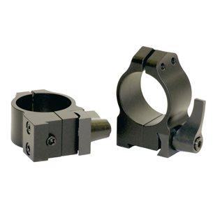 Warne Maxima QD CZ 527 30mm medium ringar (snabbfästen)