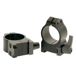Warne Maxima QD CZ 550 1tum medium ringar (snabbfästen)