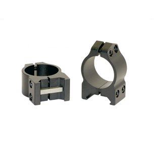 Warne Maxima PA 30mm låga ringar (fasta)